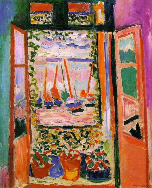 Matisse, Open Window